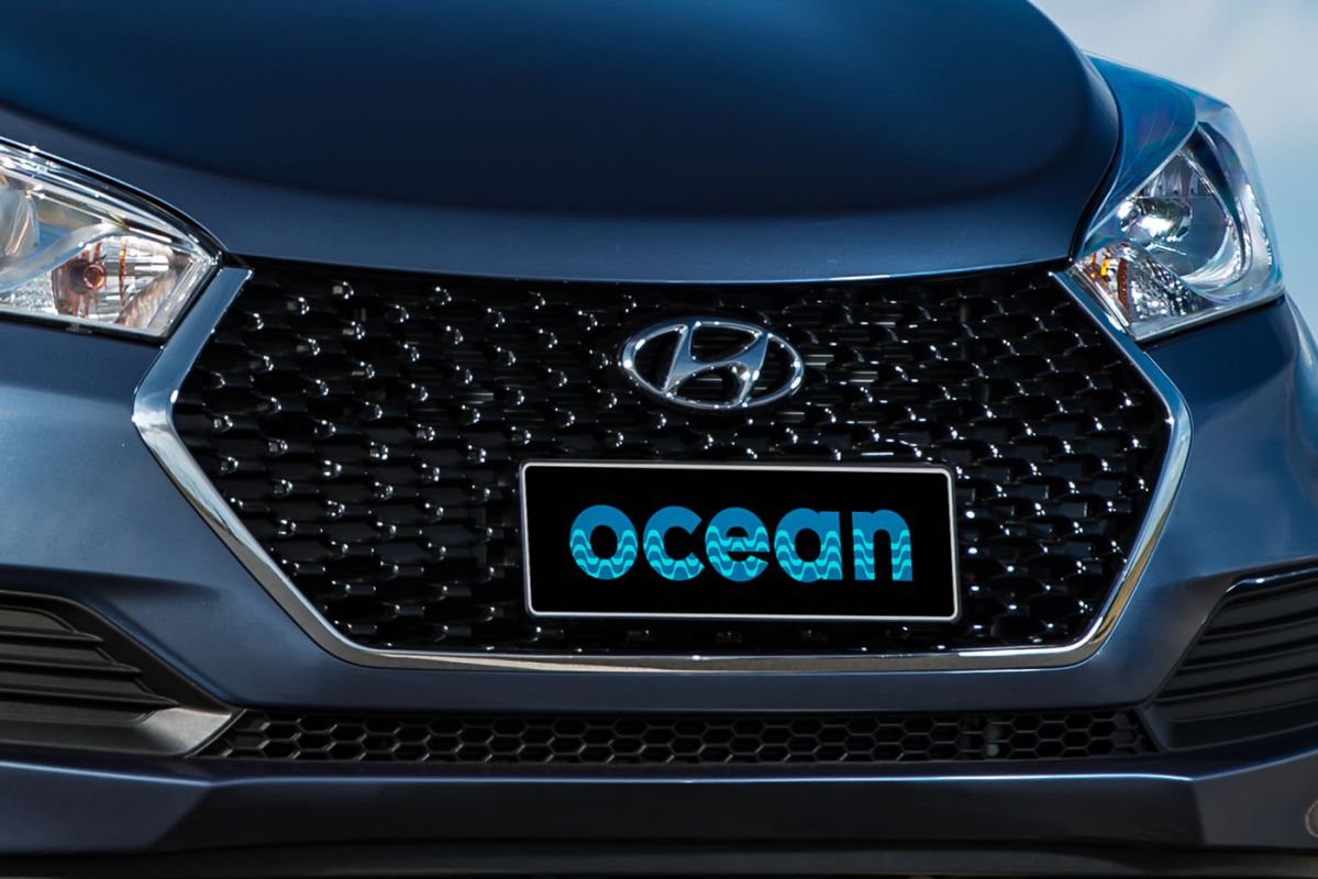 Novo HB20 Ocean 2016