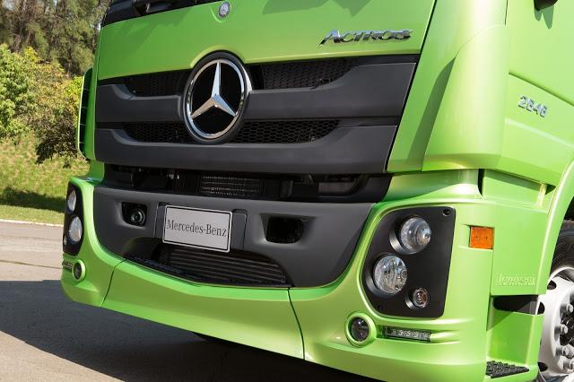 Novo Mercedes Actros