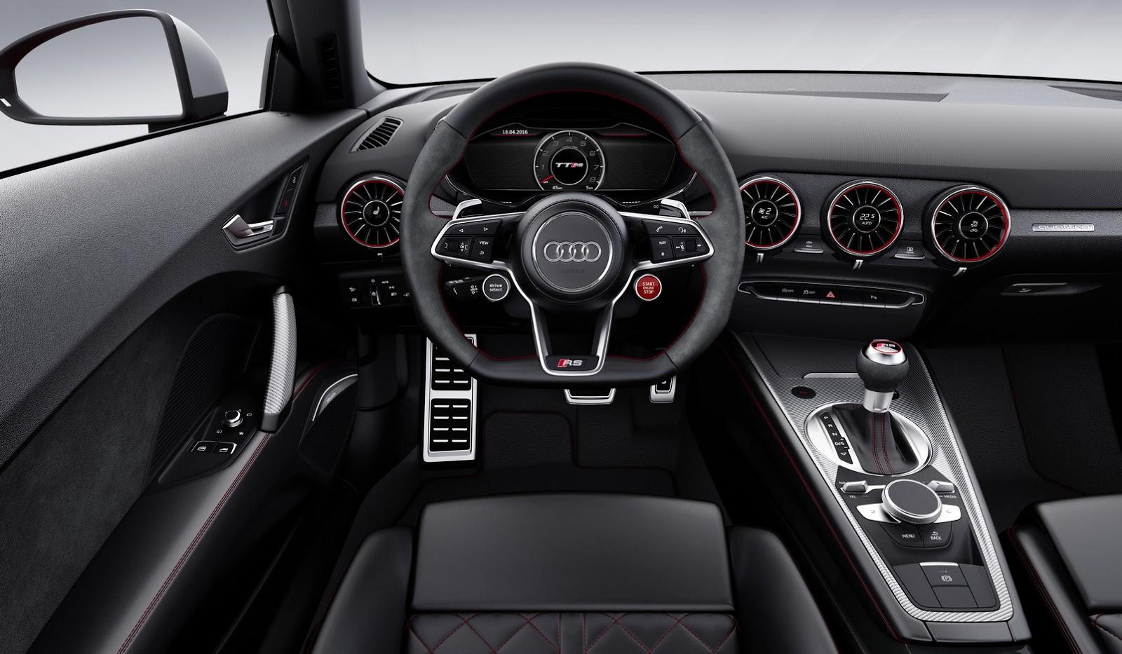Novo Audi TT RS 2017