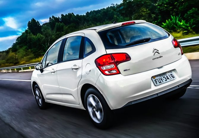 Novo Citroën C3 2017