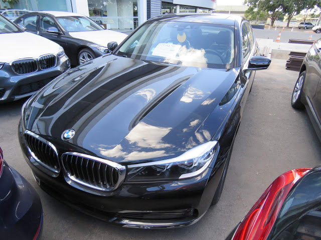 Nova BMW Série 7 2017