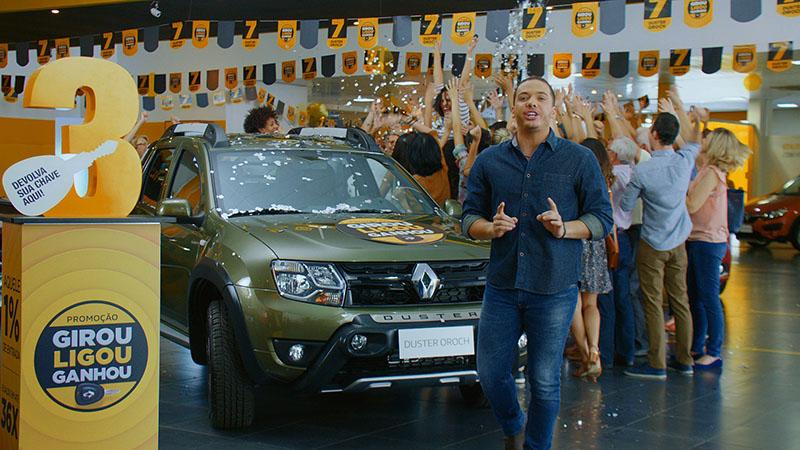 Renault irá sortear sete Duster Oroch