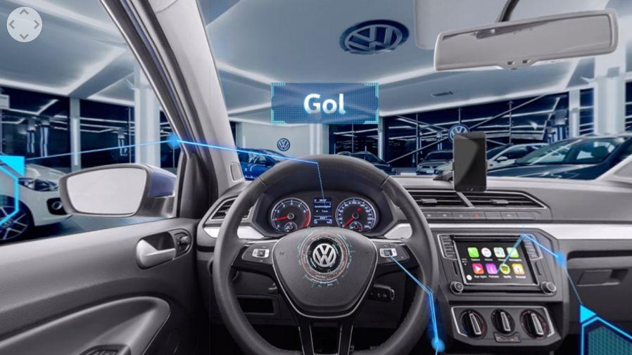 Volkswagen com vista 360 graus