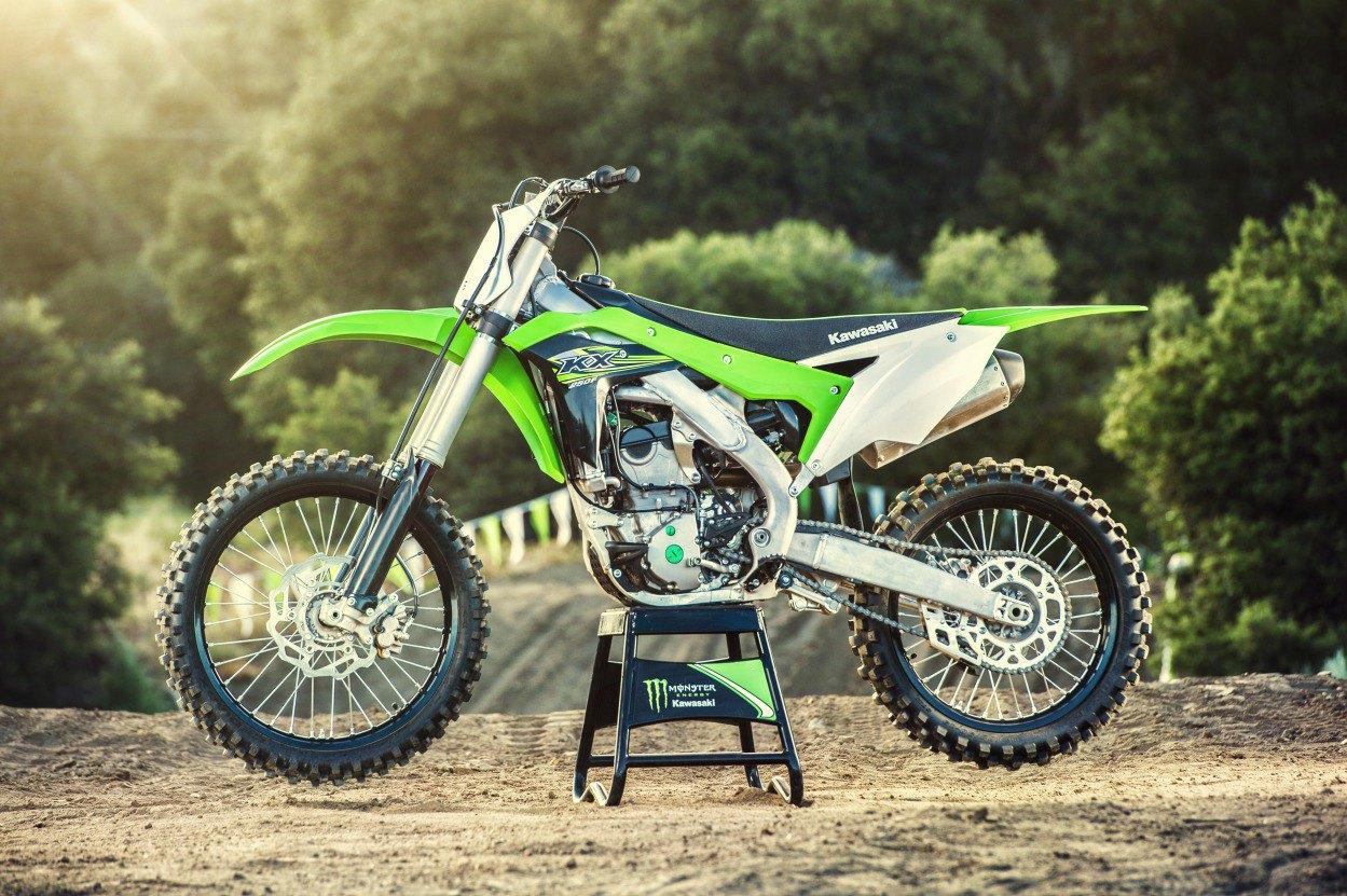 Nova Linha Kawasaki KX 2017