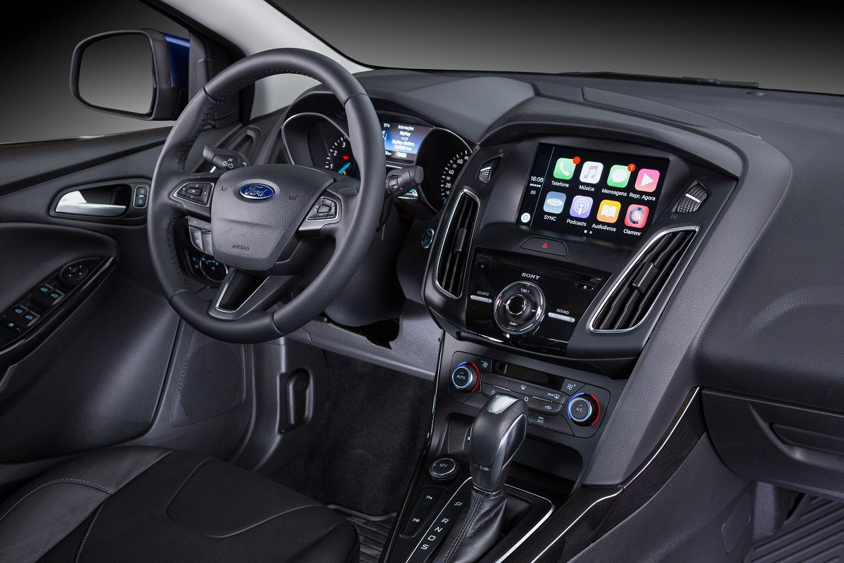 novo ford sync 3 ganha novo aplicativo inteligente autos novos. Black Bedroom Furniture Sets. Home Design Ideas
