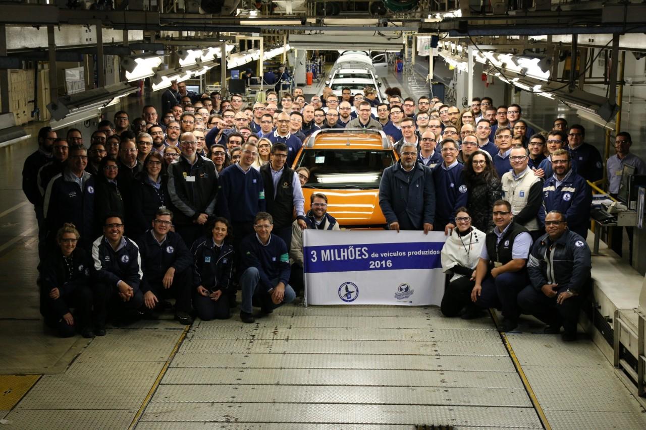 Chevrolet atinge 3 milhões de carros produzidos em Gravataí