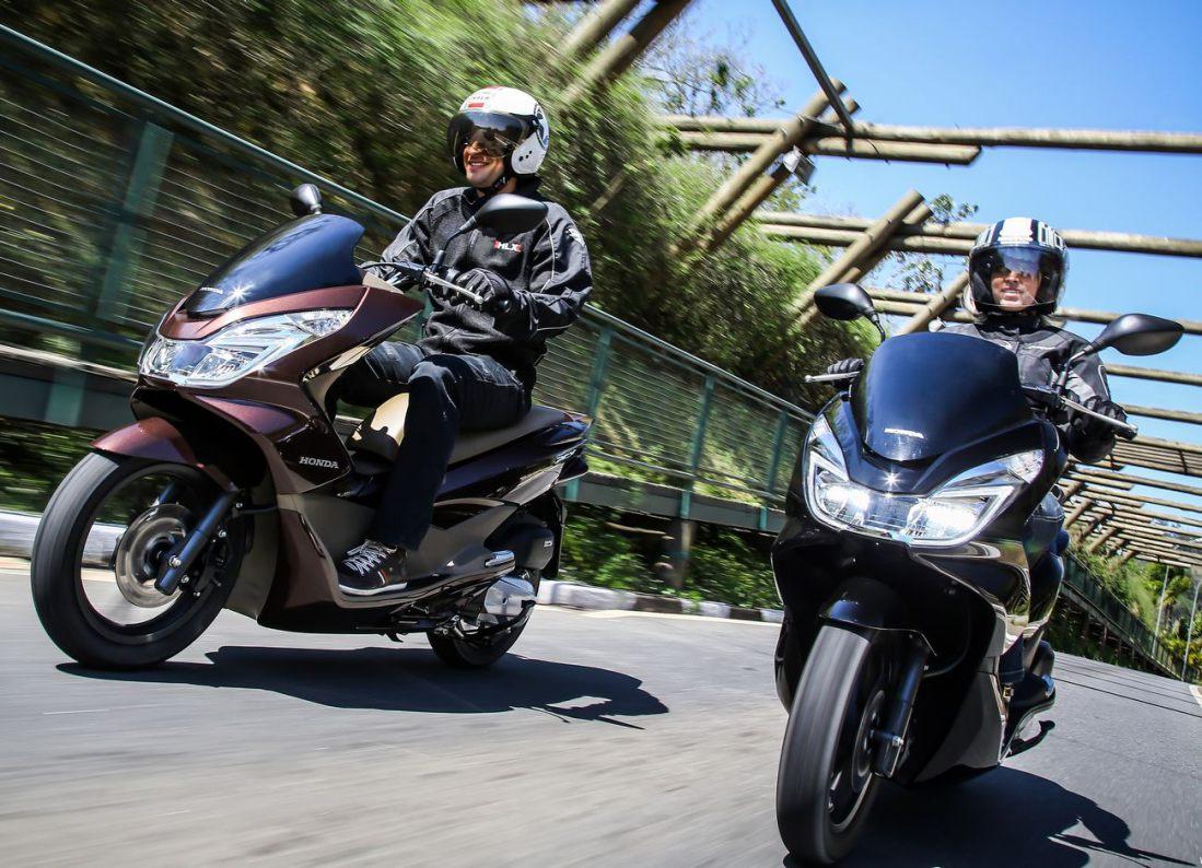 Nova Honda PCX 2017