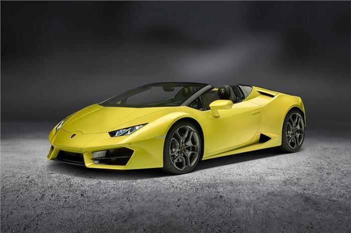 Lamborghini Huracán Spyde