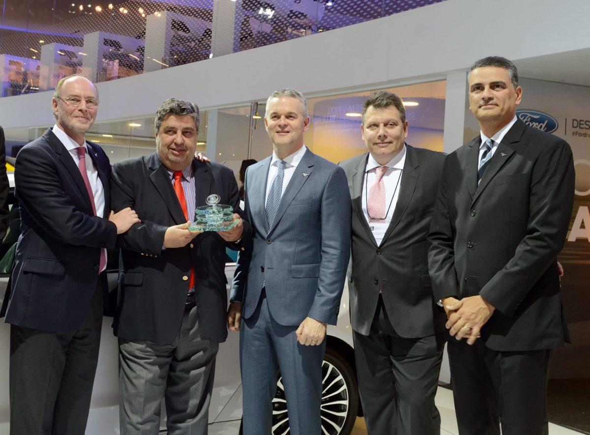 Ford ganha prêmios