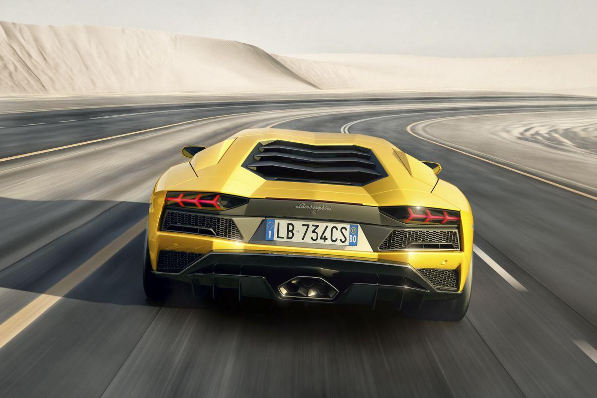 Nova Lamborghini Aventador S 2017