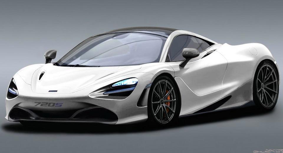 Novo McLaren P14 Aka 720S