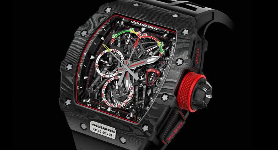 Novo relógio da McLaren