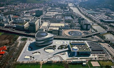 Mercedes prepara fábrica em Stuttgart para o futuro