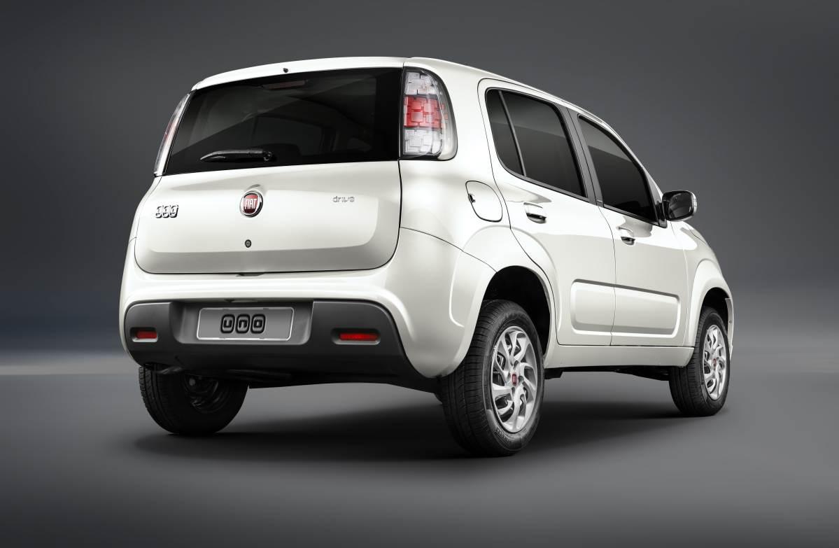 Novo Fiat Uno 2018