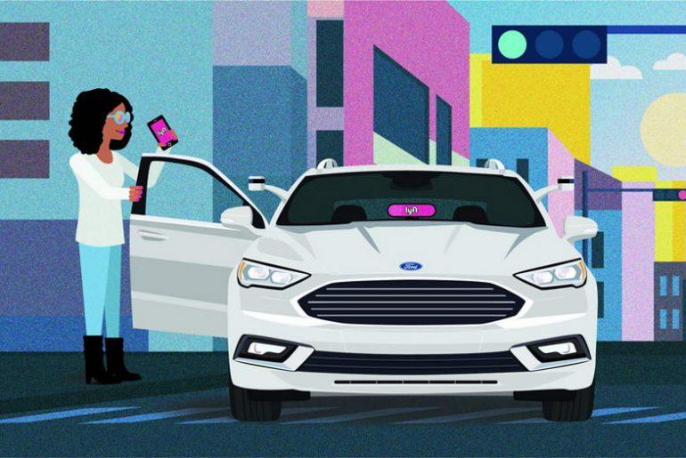 Ford firma parceria com Lyft para implantar veículos autônomos