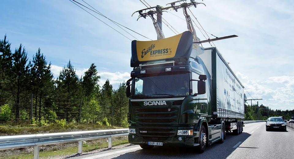 Siemens constrói estrada de caminhão elétrico na Alemanha