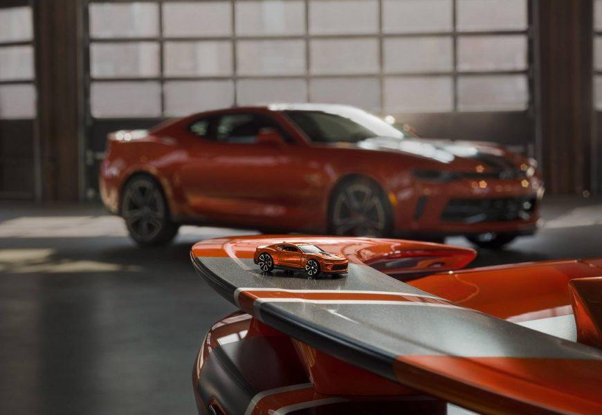 Chevrolet Camaro ganha versão especial Hot Wheels