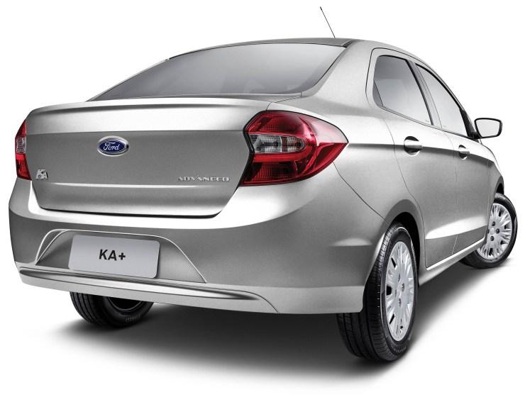 Novo Ford Ka+ 2018