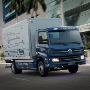 Volkswagen e-Delivery é novo caminhão elétrico do Brasil