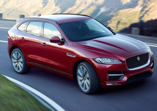 Novo Jaguar F-Pace 2018