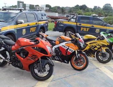 Leilão de Motos Apreendidas pela Polícia Rodoviária Federal