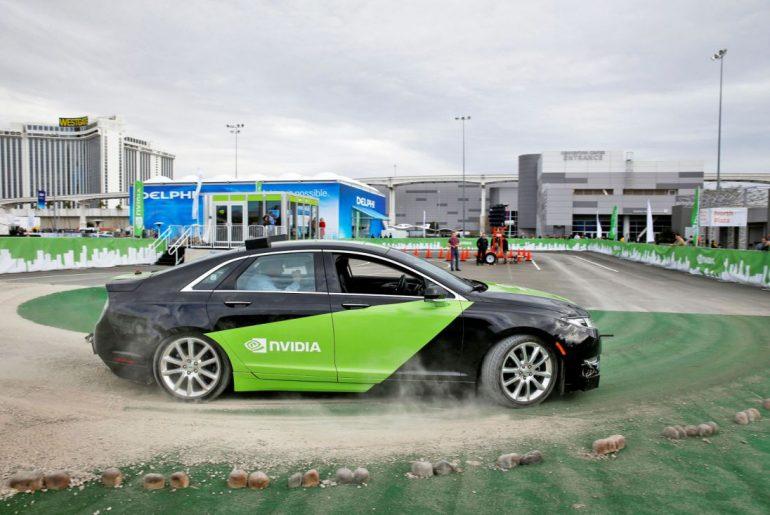 Nvidia desenvolve plataforma virtual de testes para carros autônomos