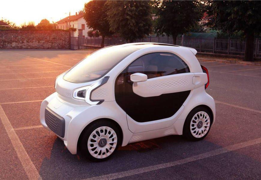 Smart LSEV primeiro carro impresso em 3D do mundo chega em 2019