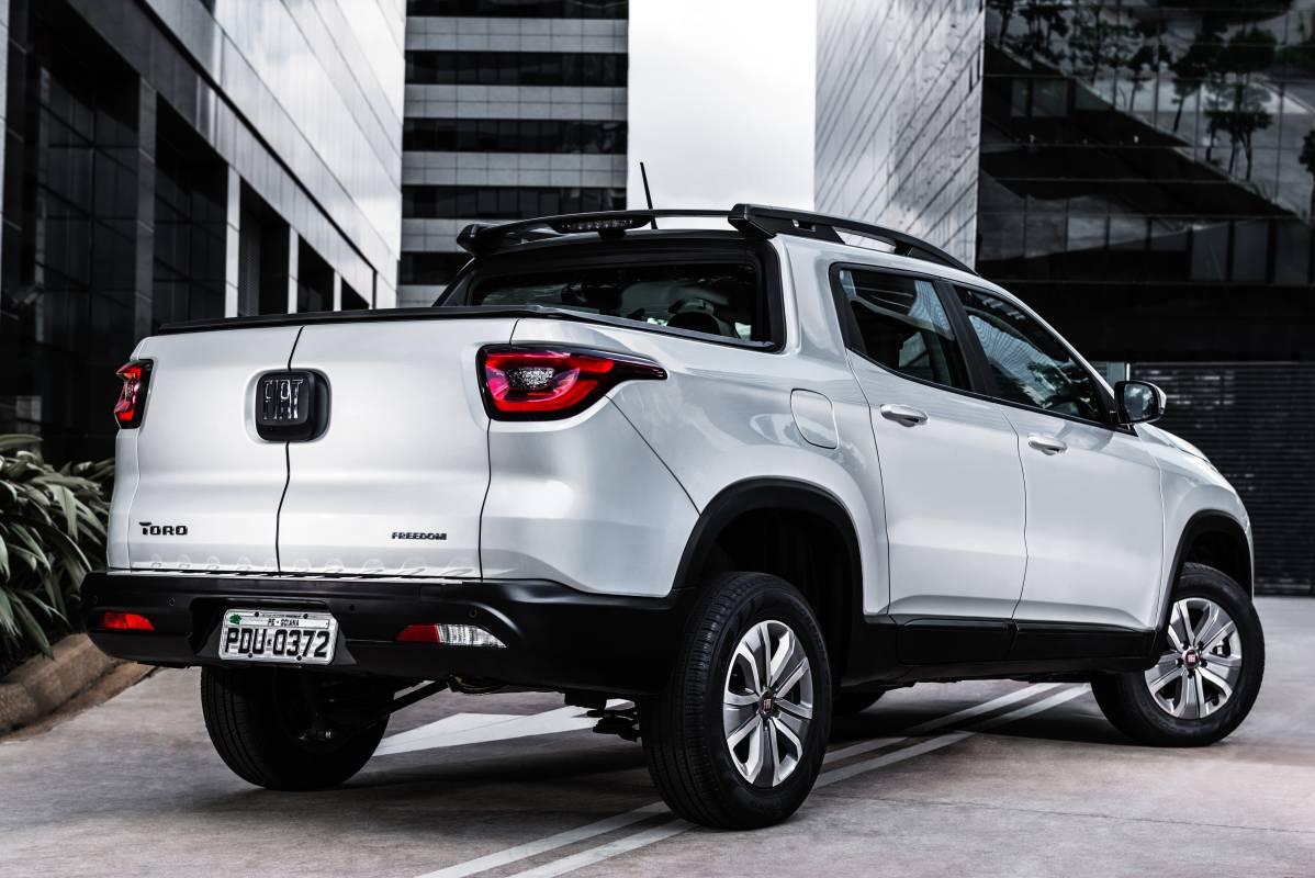 Fiat Toro 2019 Traseira