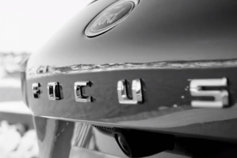 Novo Ford Focus 2019 teaser