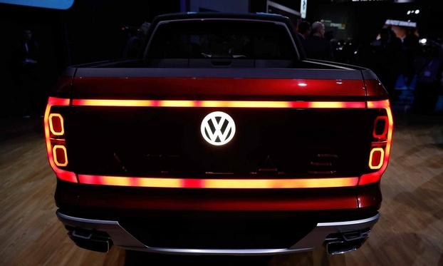 Logo Volkswagen EV