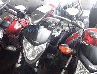 Leilão de motos