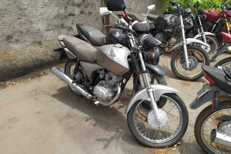 Novo leilão tem moto a partir de R$ 50 reais em Minas Gerais