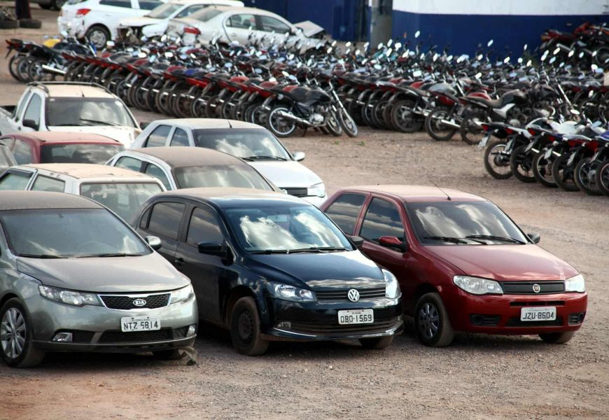 Novo Leilão de Veículos com mais de 500 unidades é divulgado em Várzea Grande